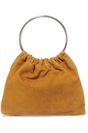 Ring small suede tote