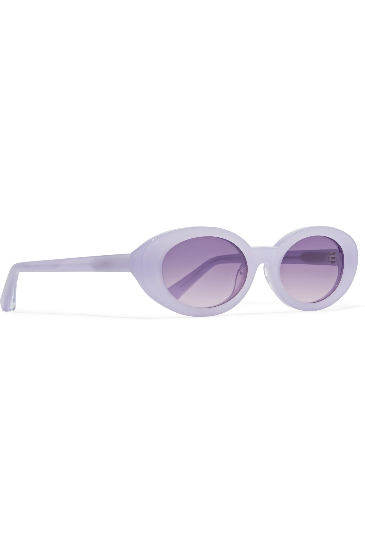 Elizabeth and James McKinley Sonnenbrille mit ovalem Rahmen aus Azetat