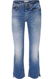 Tatum cropped low-rise flared jeans