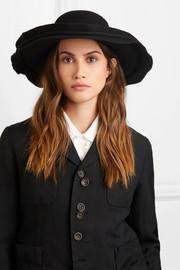 07f07a2fb3a2e Comme des Garçons Comme des Garçons Layered wool-felt hat