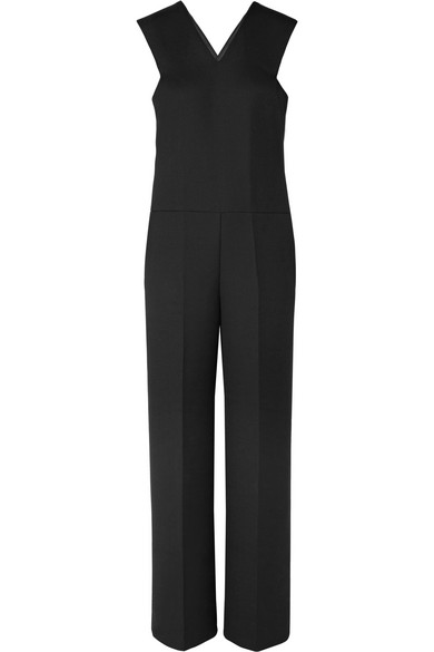 Susanitan Woven Jumpsuit, Black