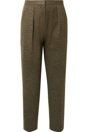 Pillio cropped woven tapered pants