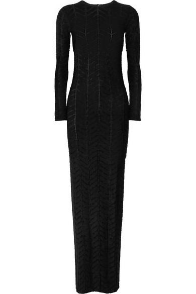 GARETH PUGH Stretch-Jersey Maxi Dress in Black
