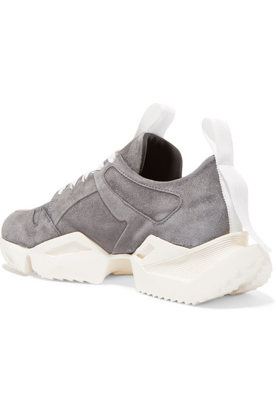 Unravel Project | | Project Sneakers aus Veloursleder 0f33a5