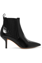 Mollo leather ankle boots