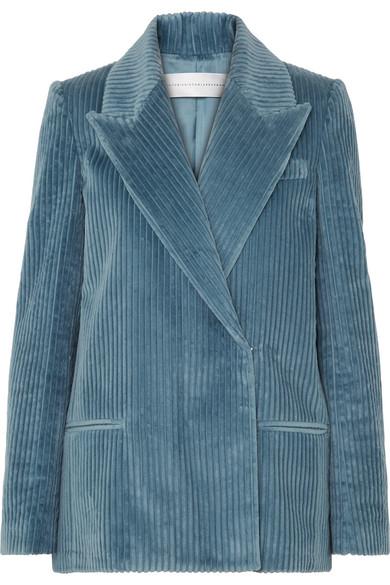 6cd9fc3bdd Victoria, Victoria Beckham | Cotton-corduroy blazer | NET-A-PORTER.COM