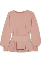 Agnona Wool peplum top