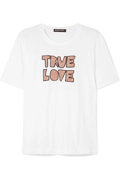 True Love Sequin Tee