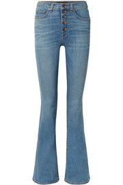 Beverly high-rise flared jeans