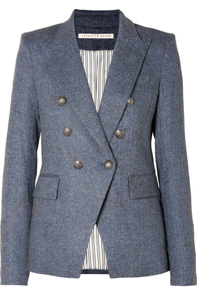 Miller Dickey Tweed Blazer by Veronica Beard