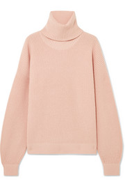 Inez wool and cashmere-blend turtleneck sweater