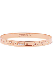 Jemma Wynne 18-karat rose gold diamond bracelet
