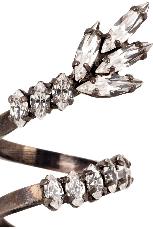 Erickson Beamon Duchess of Fabulous Swarovski crystal ring
