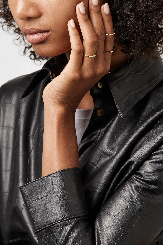 Jennifer Meyer 18-karat gold diamond ring
