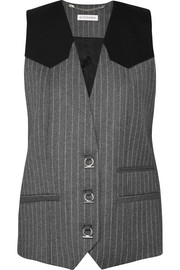Altuzarra Walace pinstriped wool-blend vest