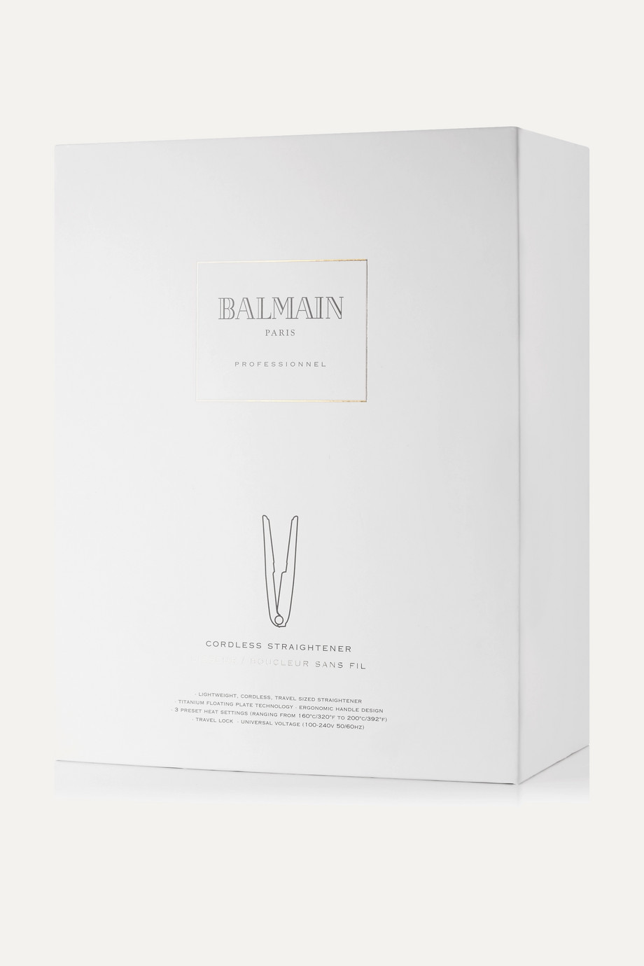Balmain Paris Hair Couture Universal Cordless Straightener – Glätteisen