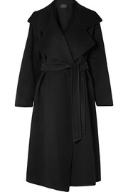 Akris Belted cashmere coat