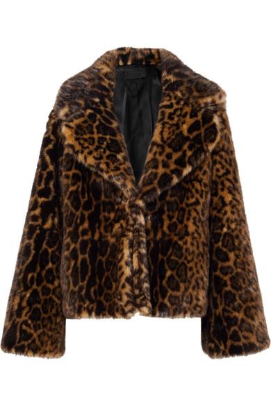 Nili Lotan - Sedella Leopard-print Faux Fur Coat - Leopard print