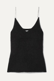 3.1 Phillip Lim Crystal-embellished knitted tank