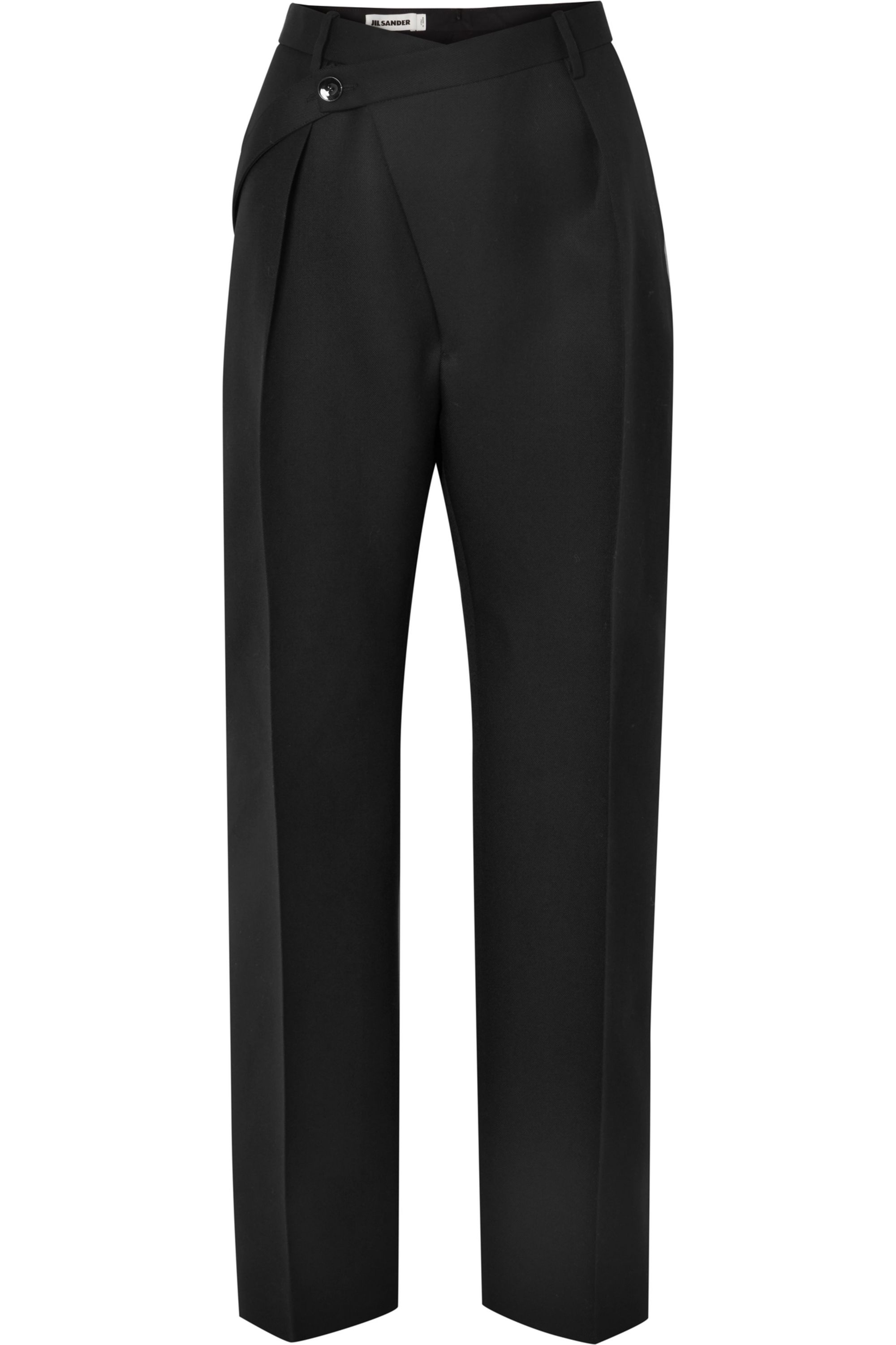 Jil Sander Wool-crepe straight-leg pants