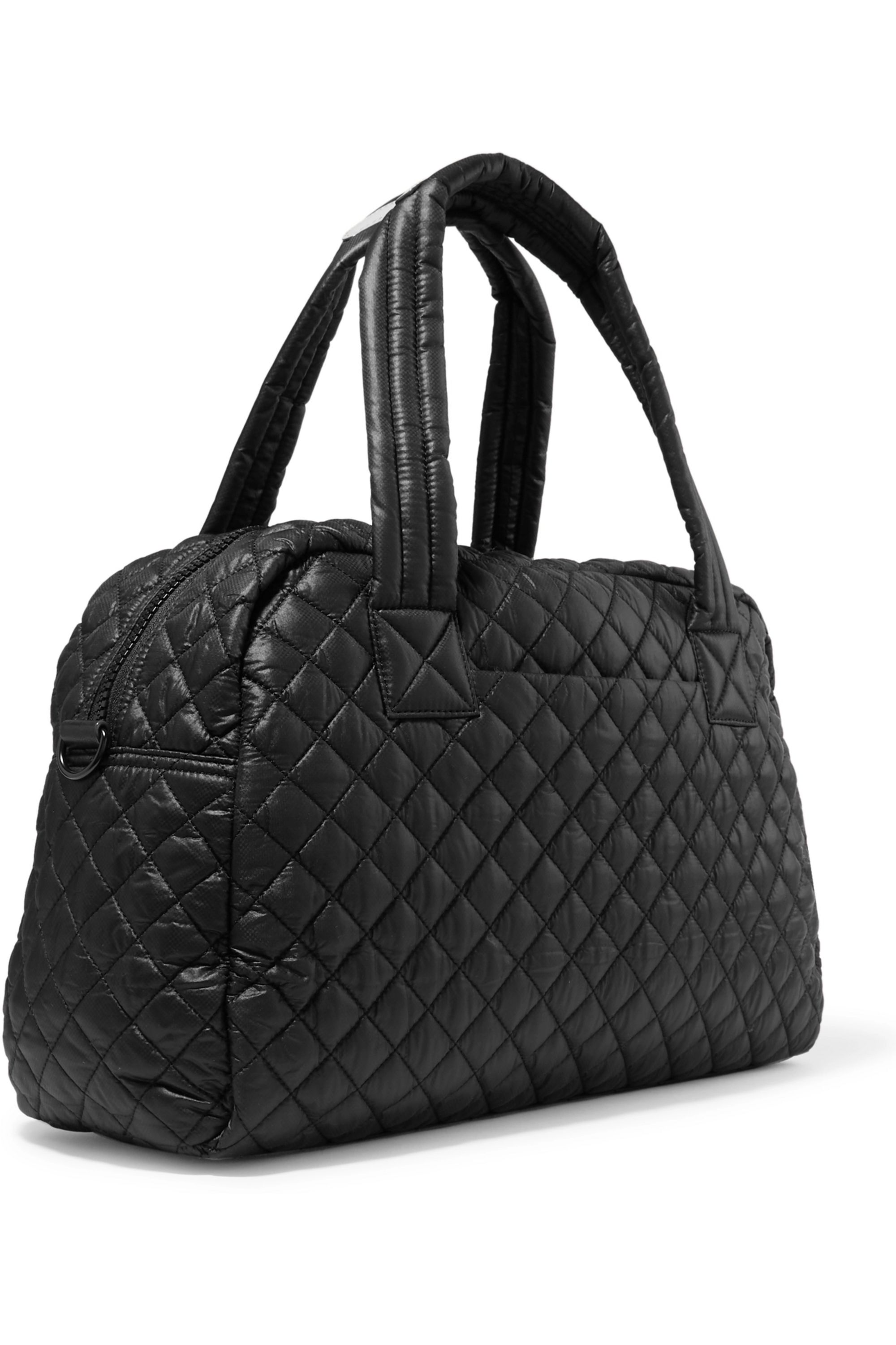 MZ Wallace Jimmy quilted shell tote
