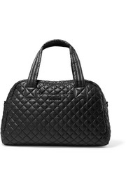 Jimmy quilted shell tote