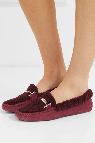 f0af0e51f871 shearling loafers Gommini Tod s and suede wUI4t--salacious ...