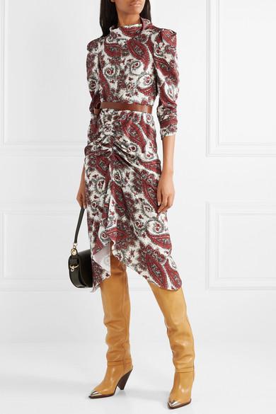 41caf992254 Isabel Marant. Lafsten embellished leather over-the-knee boots.  2