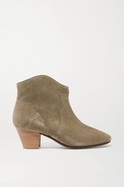 Bottines en daim Étoile Dicker