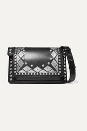 Maskia embellished leather shoulder bag