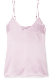 Anine Bing Gwyneth silk-satin camisole