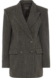 Isabel Marant Jaxen double-breasted striped wool-blend blazer