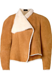 Isabel Marant Acacia reversible shearling and suede jacket
