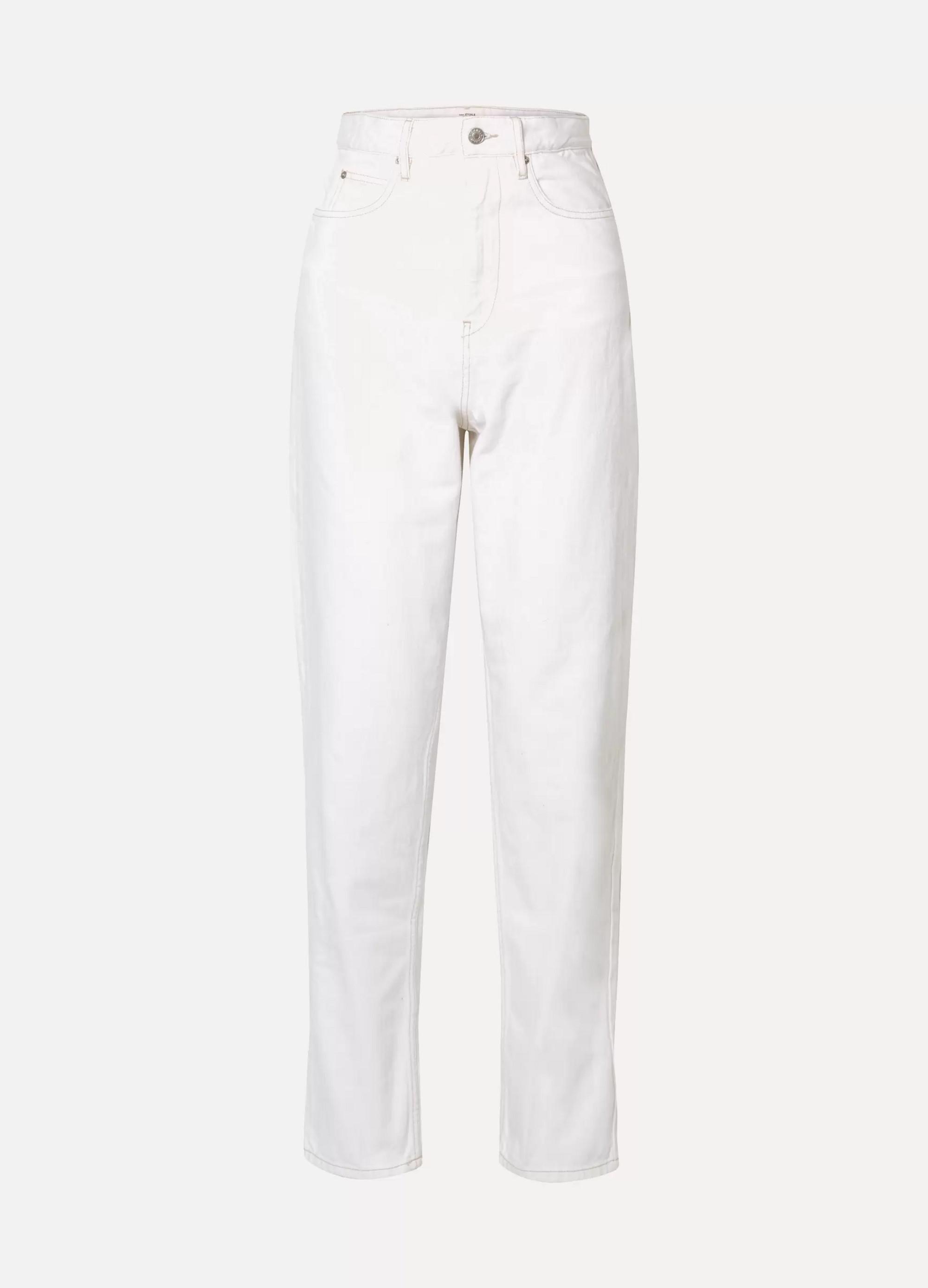 Isabel Marant Corsy high-rise boyfriend jeans