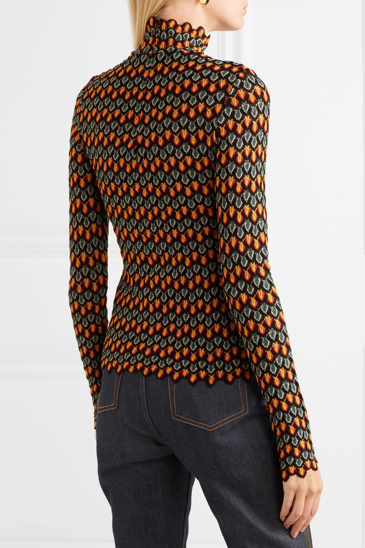 Beaufille Mena crochet-knit sweater