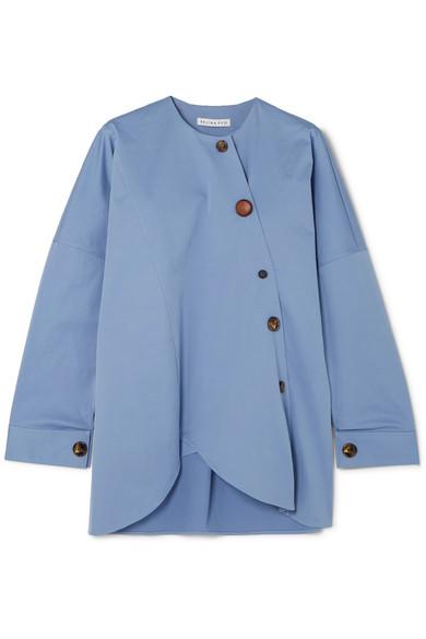 REJINA PYO Renee cotton-blend shirt