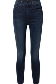 The Swooner high-rise skinny jeans