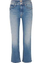 The Dutchie cropped mid-rise flared jeans