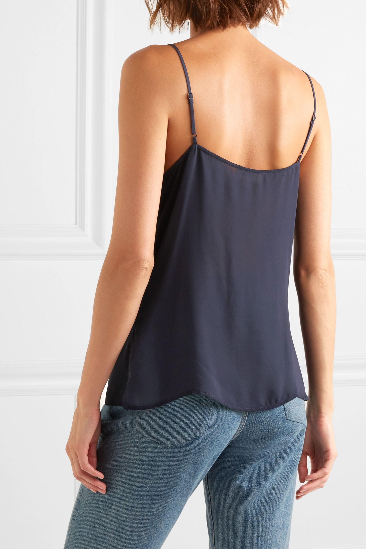 L'Agence Gabriella silk crepe de chine camisole