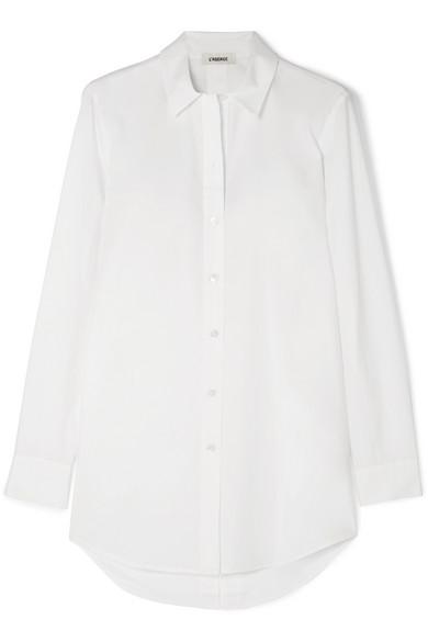 Layla Cotton-Poplin Shirt