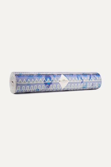 Avanti Printed Yoga Mat, Blue