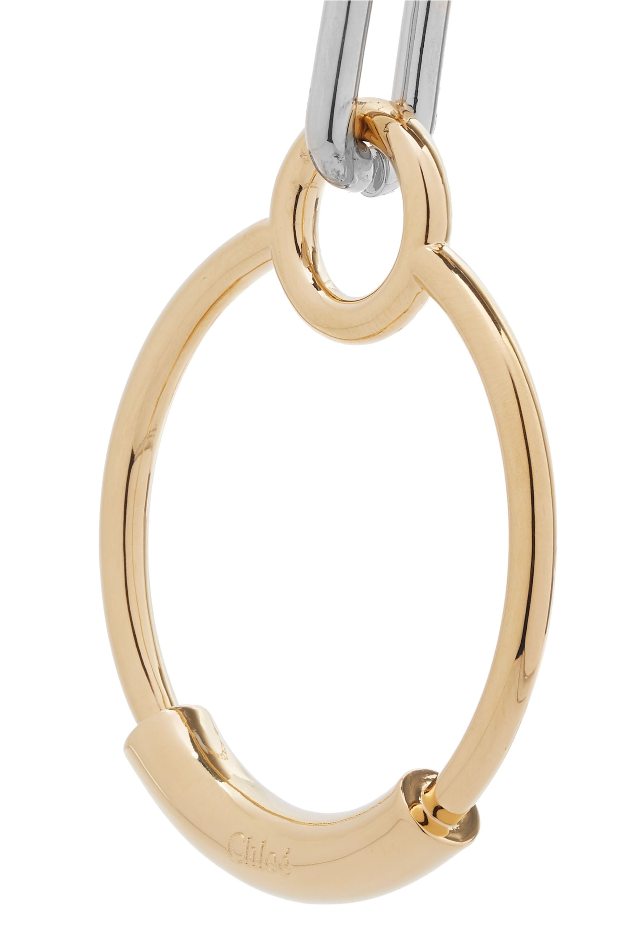 Chloé Reese gold-tone necklace