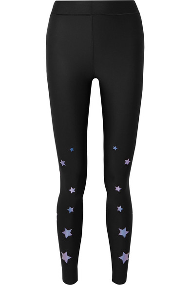 3d67130d38 Ultracor   Ultra Luster appliquéd stretch leggings   NET-A-PORTER.COM