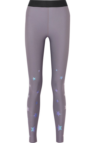 Ultracor - Ultra Luster Metallic Stretch Leggings - Lavender