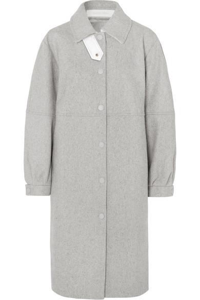See By Chloé Wools CITY OVERSIZED WOOL-BLEND FELT COAT