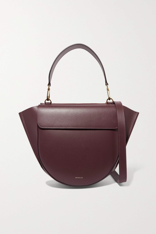 Wandler Hortensia leather shoulder bag