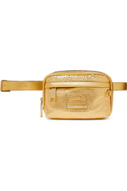 Marc Jacobs Sport metallic textured-leather belt bag