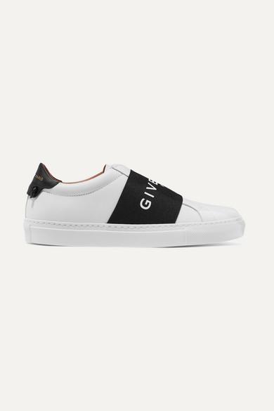 Givenchy Slip-ons | Urban Street Slip-ons Givenchy aus Leder mit Logoprint 270638