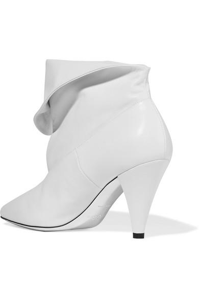 Givenchy Leder   Ankle Boots aus Leder Givenchy mit umgeschlagenem Schaft b91531