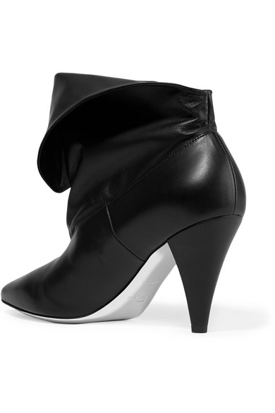 e9791d6afabe Givenchy. Fold-over leather ankle boots.  995. Zoom In